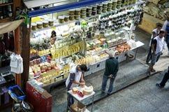 Suporte no Sao Paulo Central Market Imagem de Stock
