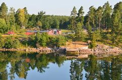 Suporte o mar de Baltik Imagens de Stock