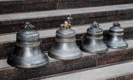 Suporte pequeno dos sinos de igreja Imagem de Stock Royalty Free