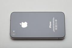 Suporte se Iphone 4 fotografia de stock