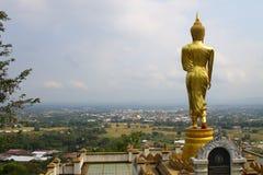 Suporte traseiro buddha Imagens de Stock