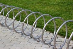 Suporte vazio da bicicleta Imagem de Stock Royalty Free