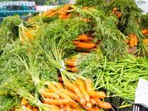 Suporte vegetal do mercado famoso dos fazendeiros de domingo Hollywood Foto de Stock