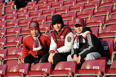 Suportes da equipe de FC CFR Cluj, Romania Imagens de Stock
