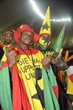 Suportes de Ghana Foto de Stock