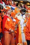 Suportes holandeses que prestam atenção ao fósforo final Foto de Stock
