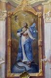 Suposição da Virgem Maria abençoada foto de stock royalty free