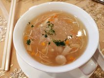 Suppe lizenzfreies stockbild