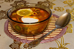Suppe stockfotos