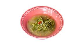 Suppe der Indischen Spinate lizenzfreie stockfotos