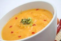 Suppe der Karotten Lizenzfreies Stockfoto