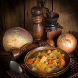 Suppe der schwedischen Rübe Lizenzfreie Stockfotos