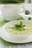 Suppe des Brokkolis Lizenzfreies Stockfoto