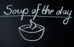 Suppe des Tages Lizenzfreie Stockfotos
