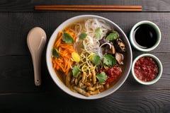 Suppe des traditionellen Chinesen Lizenzfreies Stockfoto