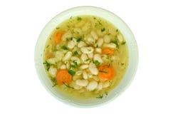 Suppe mit Bohnen Lizenzfreie Stockfotos