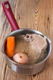 Suppe mit Gemüse Lizenzfreie Stockfotos
