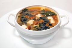 Suppe mit mushrooms3 Stockbilder