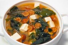 Suppe mit mushrooms2 Lizenzfreie Stockfotos