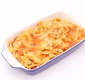 Suppe mit Nudeln Lizenzfreies Stockfoto
