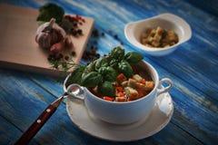 Suppe modisch Stockfoto