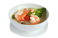 Suppe Tom-Yum lizenzfreie stockbilder