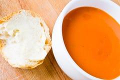 Suppe und Brot Lizenzfreies Stockbild