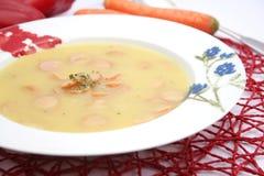 Suppe von Kartoffeln Stockfotos