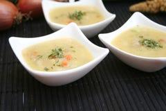 Suppen der Kartoffeln Lizenzfreie Stockfotografie