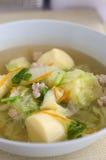 Suppeneier. Stockfoto