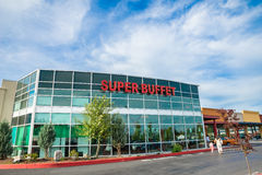 Supper Buffet Restaurant in Kent Washington royalty free stock photo