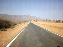 Supper road. Beautiful South India road Royalty Free Stock Photos