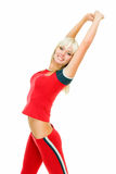 Supple waist Royalty Free Stock Images