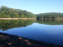 Supplee Reservoir Park stock image