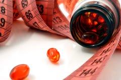 Supplementen van gewichtsverlies Stock Afbeeldingen