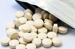 Supplemento dietetico. Fotografie Stock Libere da Diritti