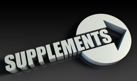 supplements Royaltyfria Foton