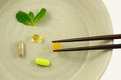 supplements Royaltyfri Fotografi