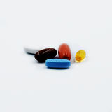 Supplements Royalty Free Stock Image