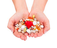 Supplements Royalty Free Stock Photography