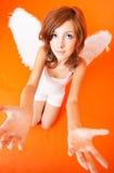 Supplica dell'angelo fotografie stock libere da diritti