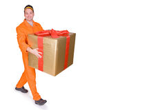 Supplier and box Stock Photos