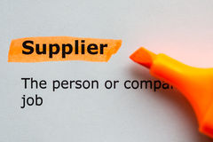 Supplier Stock Photography