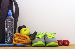 Supplies for sports hobbies Stock Photography