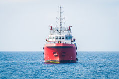 Supply boat Stock Photography