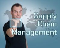 Supply chain management Images libres de droits