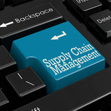 Supply chain management concept 3D Render Stock Photos