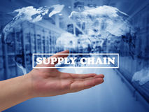 Supply Chain Management Concept Royalty Free Stock Photography