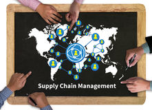 Supply Chain Management concept Royalty Free Stock Image