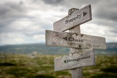 Supply, chain and management